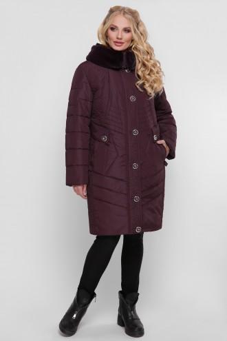 Женская зимняя куртка Лилия бордо