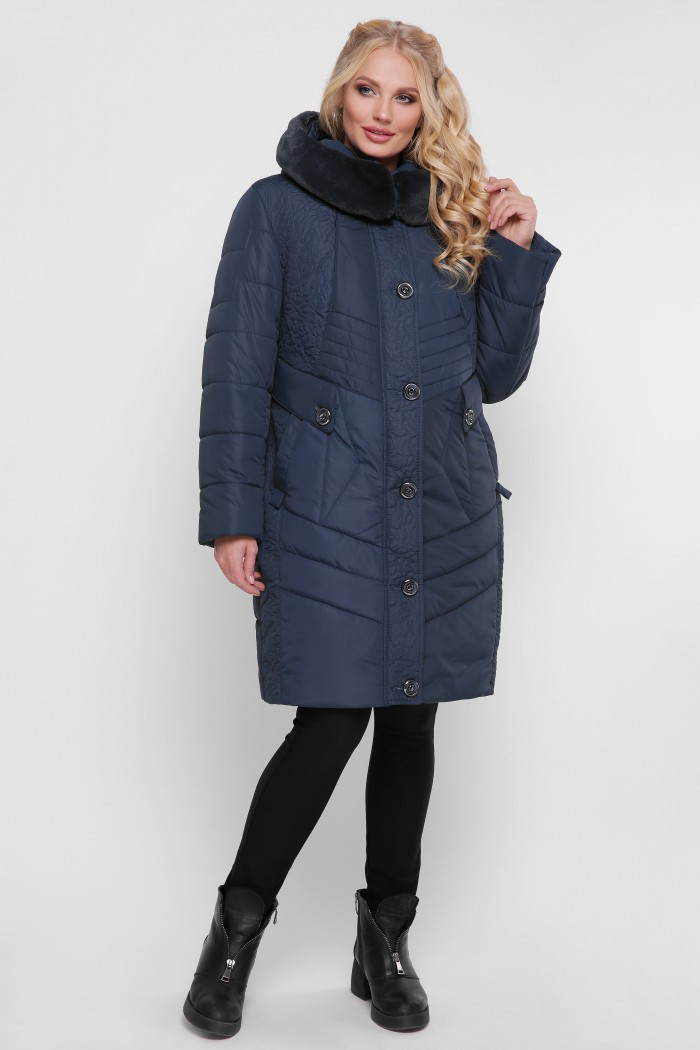 Женская зимняя куртка Лилия джинс