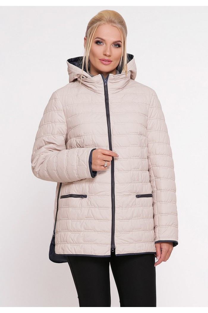 Куртка Нонна светлая беж