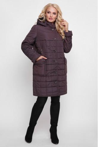 Женская демисезонная куртка Вера бордо