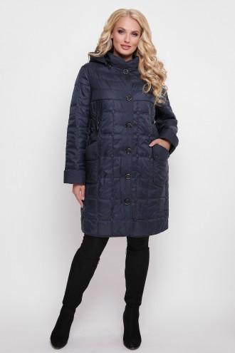 Женская демисезонная куртка Вера синяя