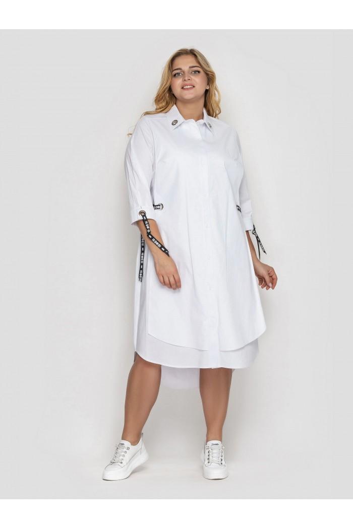 Платье Евгения Белое