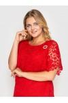 Платье  Элен красное