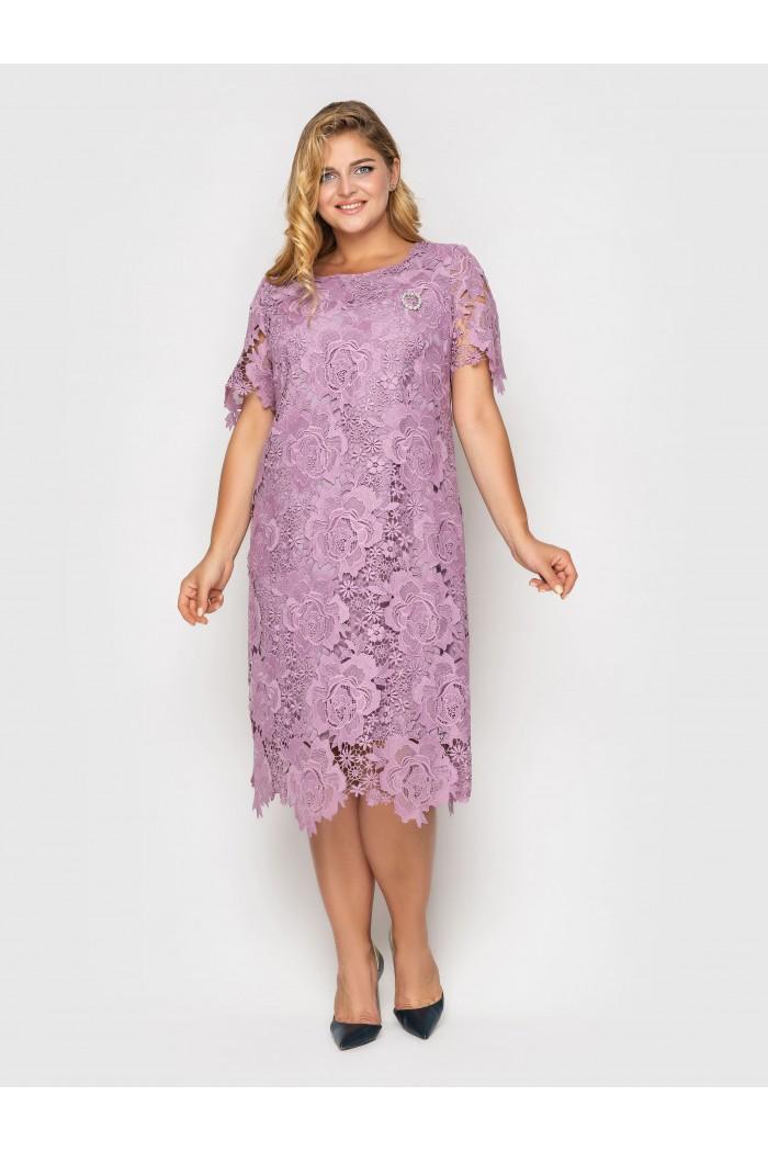 Платье  Элен лаванда