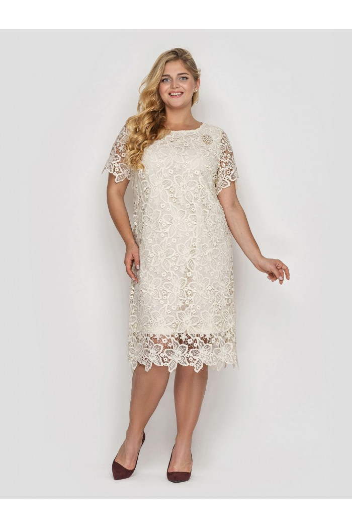 Платье  Элен ваниль