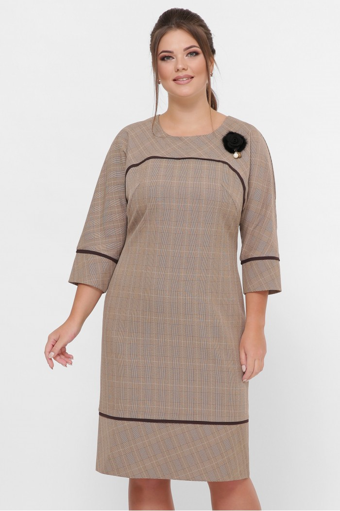 Платье женское Кантата карамель