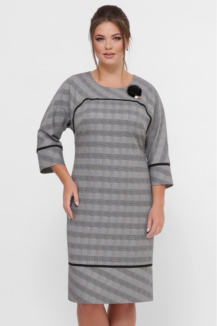 Платье женское Кантата серое