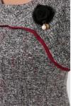 Платье женское Кантата вишня