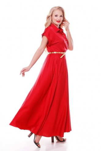 Платье Алена Красное