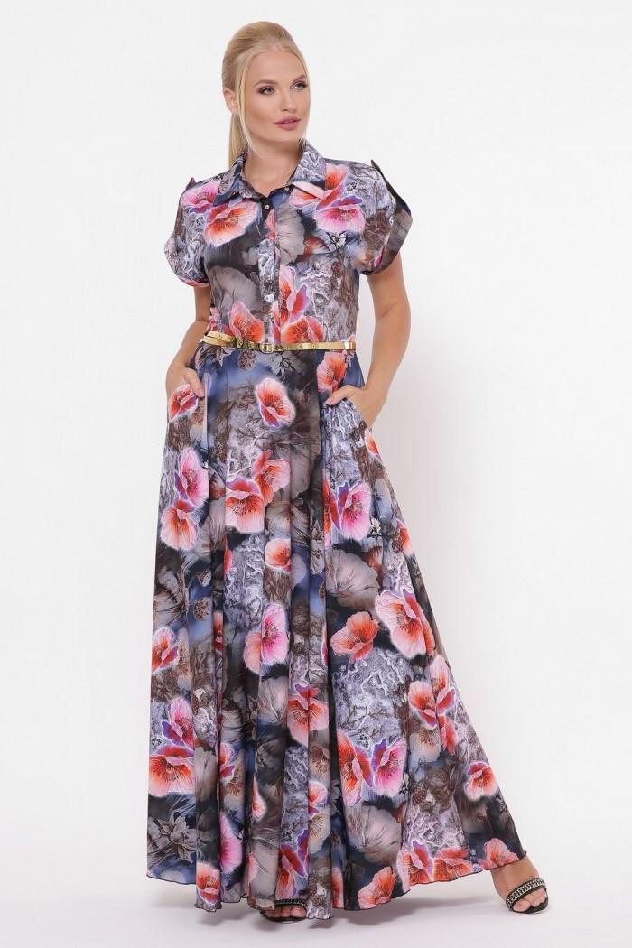 Платье Алена Небо
