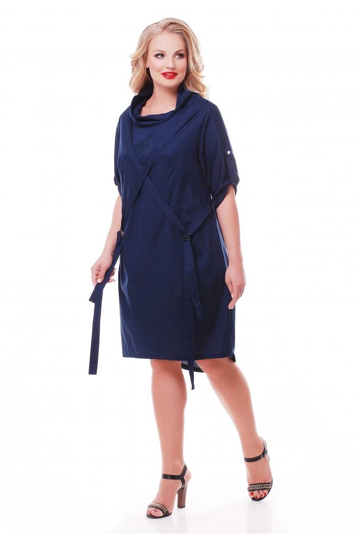 Платье Берта Синее