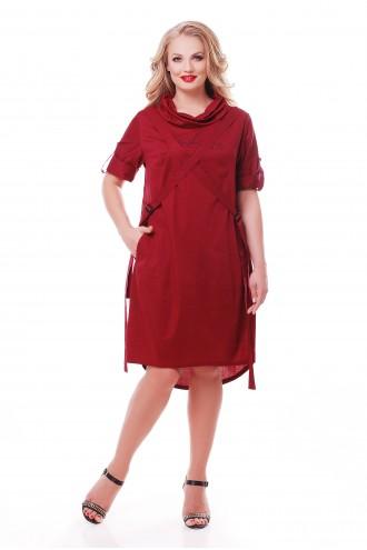 Платье Берта Бордо
