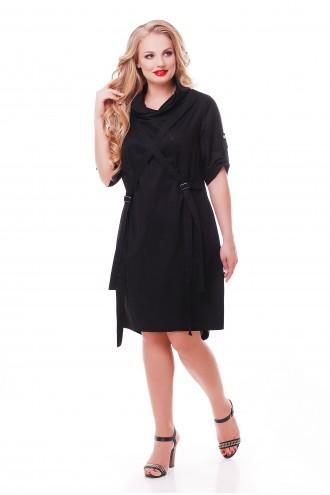 Платье Берта Черное