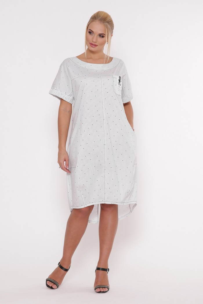 Платье Бриджит Белое