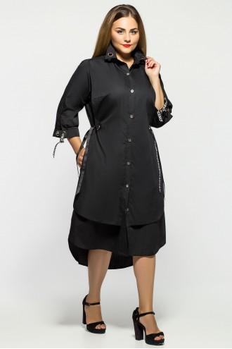 Платье Евгения Черное