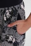 Платье Кэтлин Черно-белые Розы