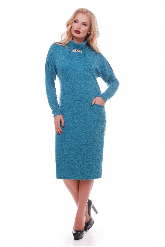 Платье Алиса Бирюза