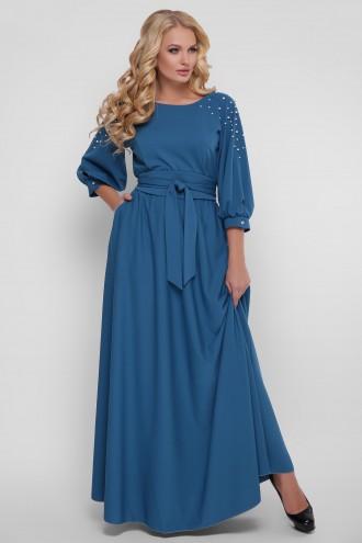Платье Вивьен Бирюза