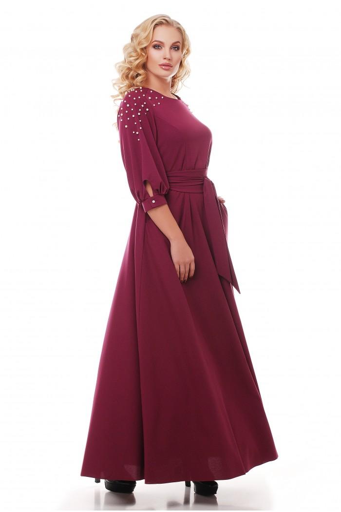 Платье Вивьен Марсала