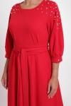 Платье Вивьен Красное