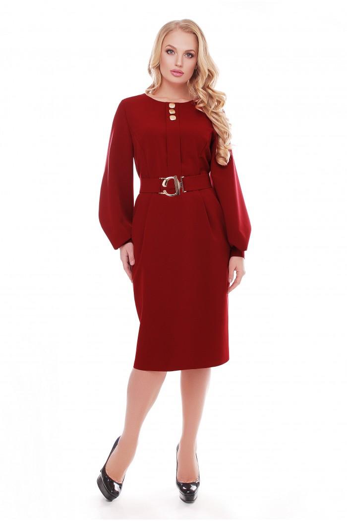 Платье Екатерина Бордо