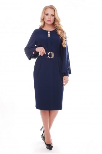Платье Екатерина Синее