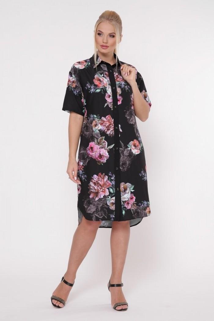 Платье-рубашка Сати Джорджия