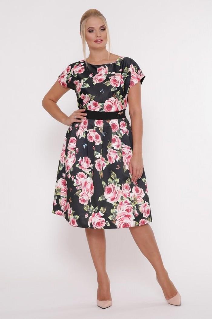 Платье Лорен Розы