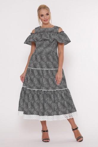 Платье Таяна горох