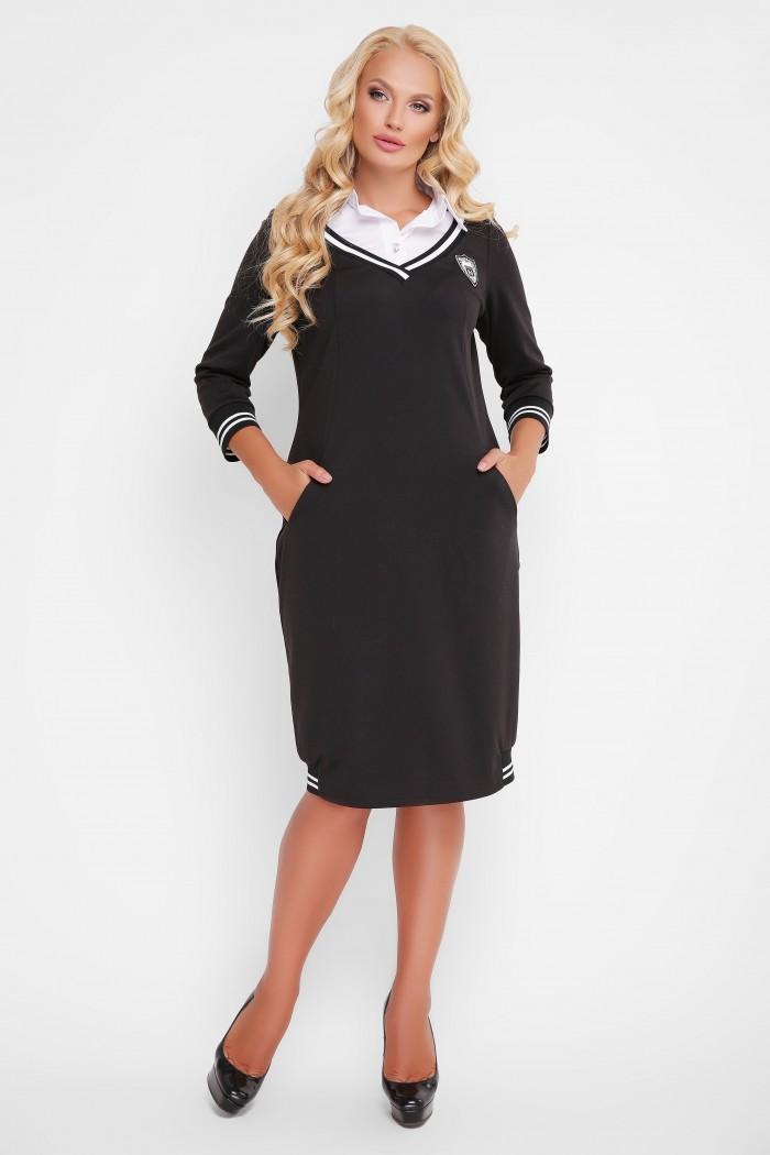 Платье Эка черное