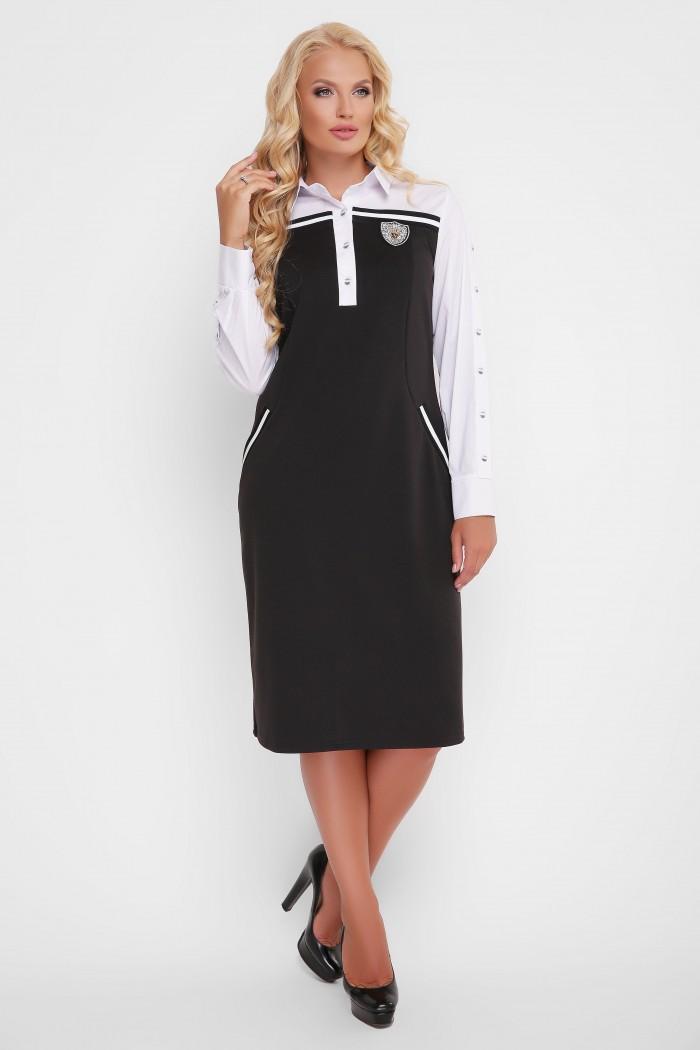 Платье Хатия черное