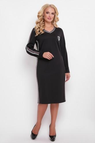 Платье Виталина черное