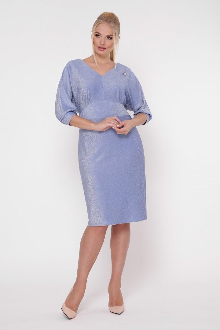 Платье нарядное Афина фиалка
