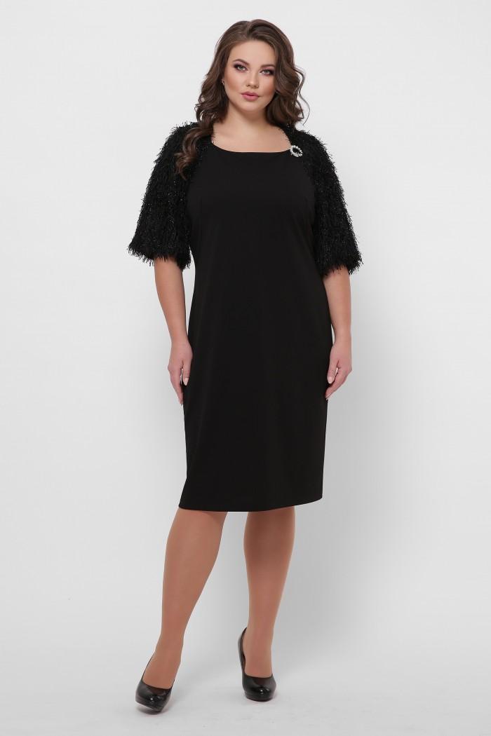 Платье Джаз черное