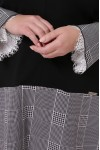 Теплое платье Медея клетка