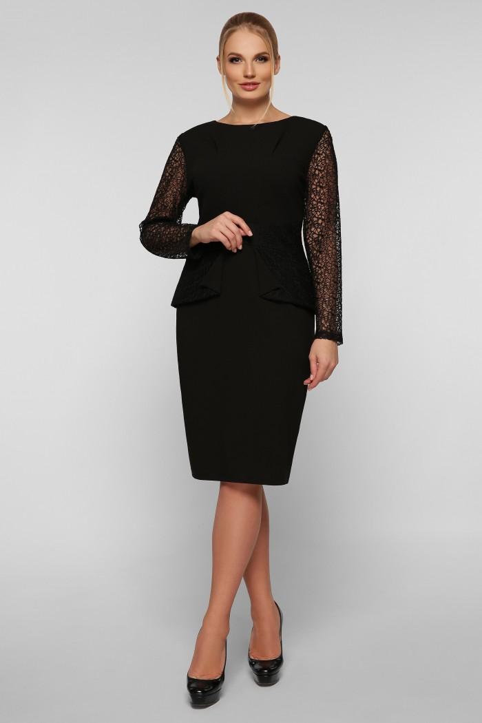 Нарядное платье Дженифер черное