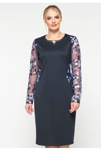 Платье Адель синее