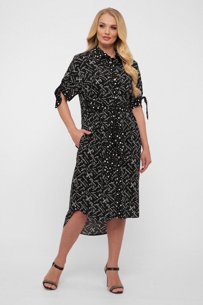 Платье Ева черное