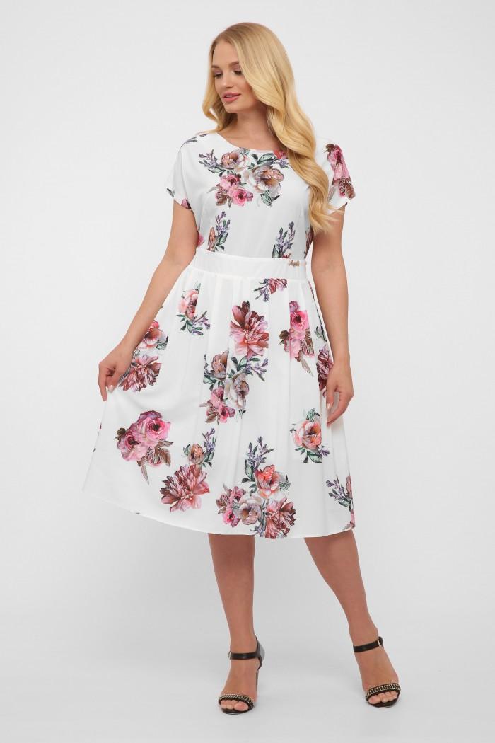 Платье Лорен белое