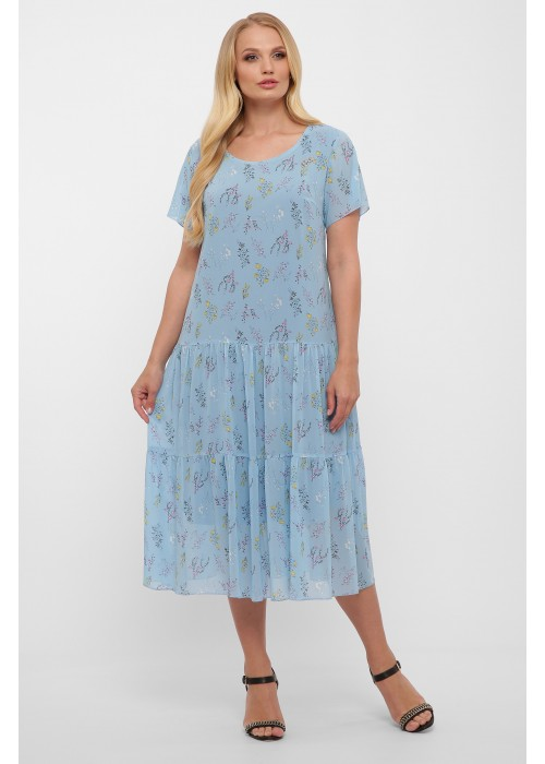 Платье Катаисс небо