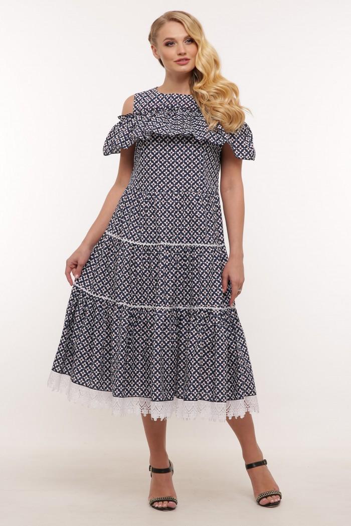 Платье Таяна цветы