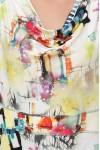 Платье Дания акварель