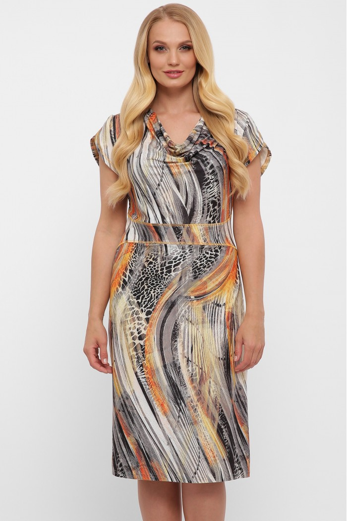 Платье Дания рептилия