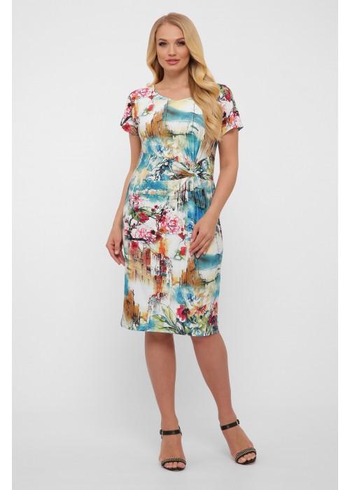 Платье Белла абстракция