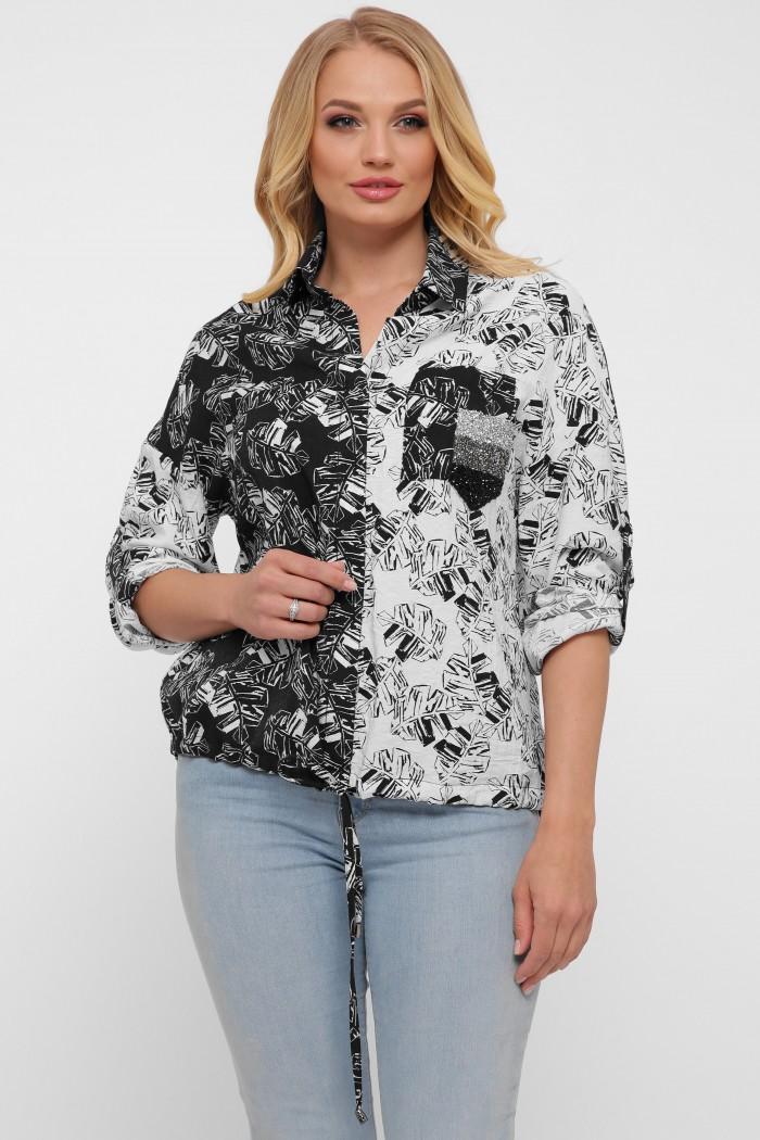 Блуза женская Гавана листья
