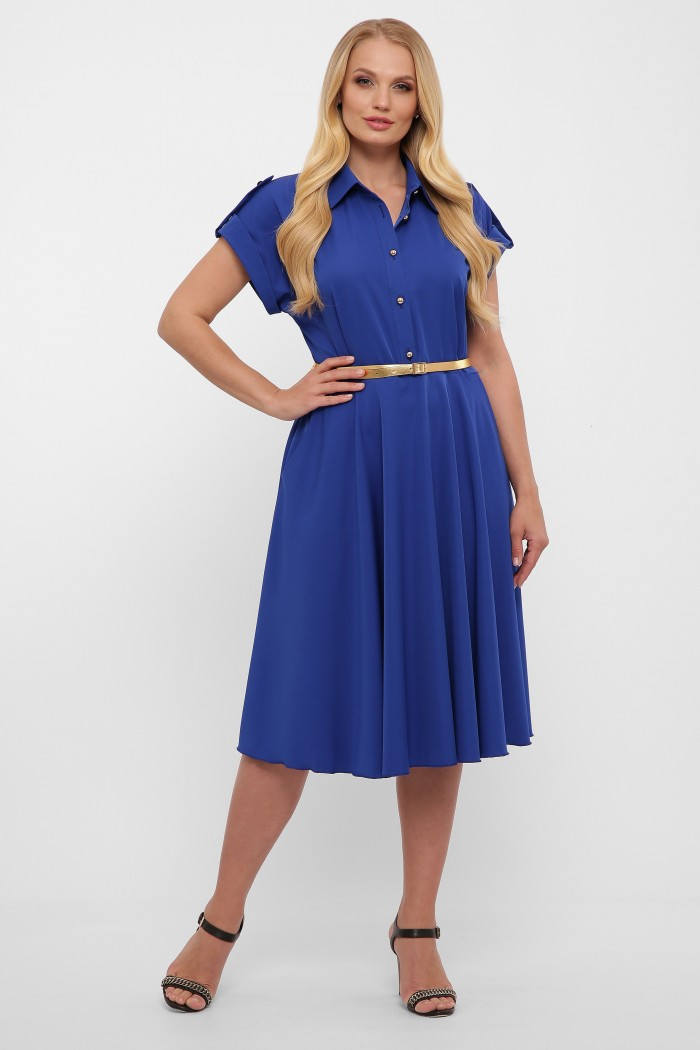 Платье Альмира электрик