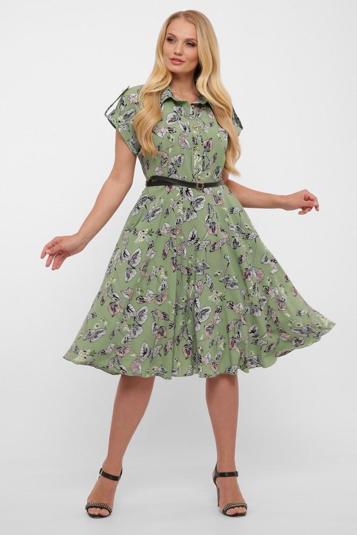 Платье Альмира зеленое
