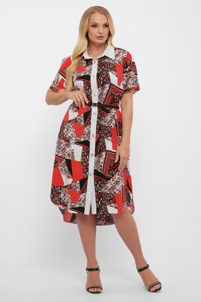 Платье-рубашка Саманта