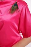 Нарядное платье Элеонора алого арбузное