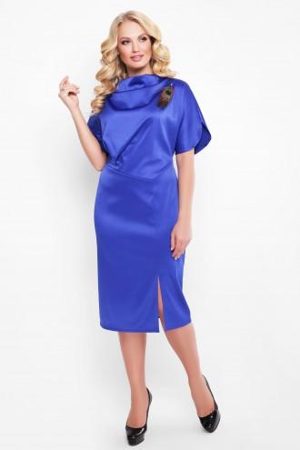 Нарядное платье Элеонора алого сапфир